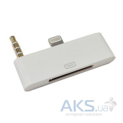 Apple Audio adapter 8-pin to 30 pin for iPhone 5
