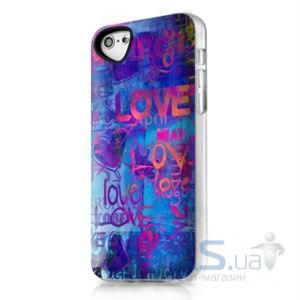 Чехол ITSkins Phantom for iPhone 5C Love Love (APNP-PHANT-BLUE)
