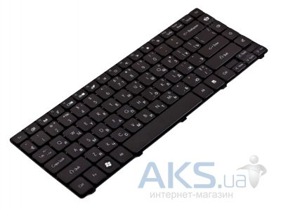 Клавиатура для ноутбука GateWay NV49C, Packard Bell EasyNote NM85, NM86,NM87 RU, (9Z.N1P82.30R) Black