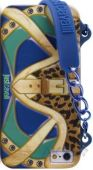 Чехол PURO JUST CAVALLI Clutch for iPhone 5/5S Blue (JCIPC5BAGBLUE)