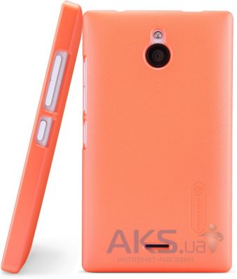 Чехол Nillkin Super Frosted Shield Nokia X2 Orange