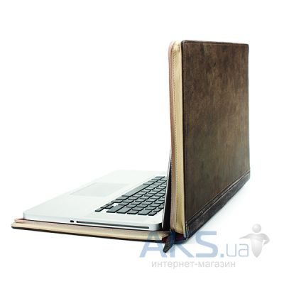 "Чехол Twelvesouth Leather Case BookBook Classic Black for MacBook Pro 15"" (TWS-12-1003)"