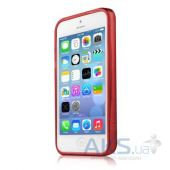 Вид 4 - Чехол ITSkins Ink Cover Case for iPhone 5C Red (APNP-NEINK-REDD)