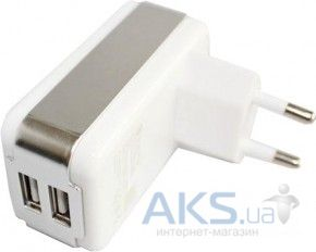 Зарядное устройство Parmp Dual Usb Home Charger + Dock, Mini, Micro Usb