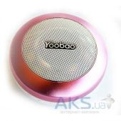 Колонки акустические Yoobao Bluetooth Mini-Speaker YBL201 Pink [YBL201-PK]