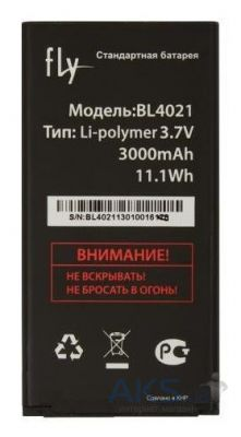 Аккумулятор Fly DS124 / BL4021 (3000 mAh) Original
