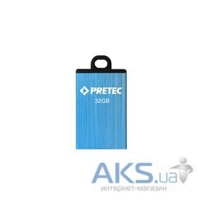 Флешка Pretec Elite 16Gb E2T16G-1BU blue