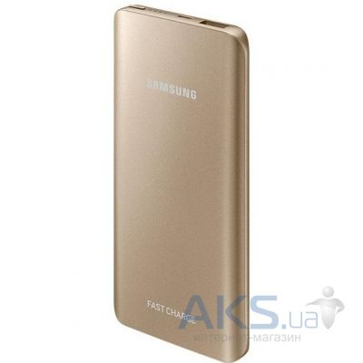 Внешний аккумулятор Samsung Fast Charging Battery Pack 5200 mAh (EB-PN920UFRGRU) Gold
