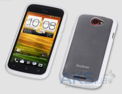Чехол Yoobao 2 in 1 Protect case for HTC One S Z320e White (TPUHTCONES-WT)