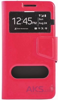 Чехол Book Cover TPU LG Optimus G3s D724, D722 Crimson