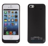 Внешний аккумулятор AksPower Power Case for iPhone 5C 2200mAh Black