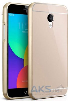 Чехол Anomaly Metal bumper for Meizu M2 Note Gold