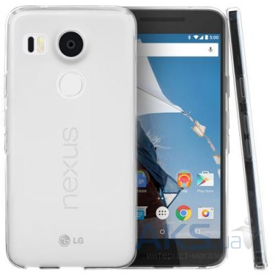 Чехол Remax Ultra Thin Silicon Case LG Google Nexus 5X H791 White