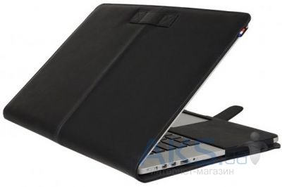 Чехол Decoded Leather Slim Cover for MacBook Air 13 Black (D4MA13SC1BK)