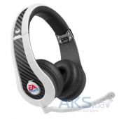 Наушники (гарнитура) Monster MVP Carbon On-Ear Headphones by EA Sports White