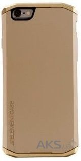 Чехол Element Case Solace Chroma Apple iPhone 6, iPhone 6S Gold Body - Gold Crowns (EMT-0140)