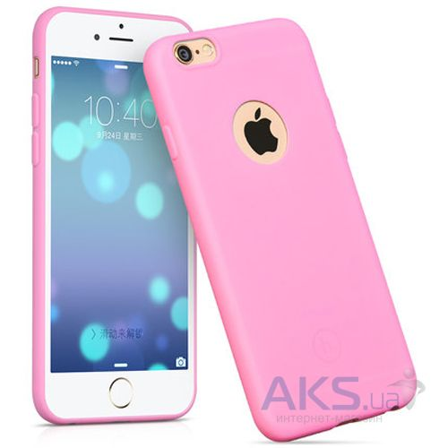 Чехол Hoco Juice Series Apple iPhone 6, iPhone 6S Pink