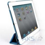 Вид 3 - Чехол для планшета JustCase Leather Case For iPad 2/3/4 Blue (SS0008)