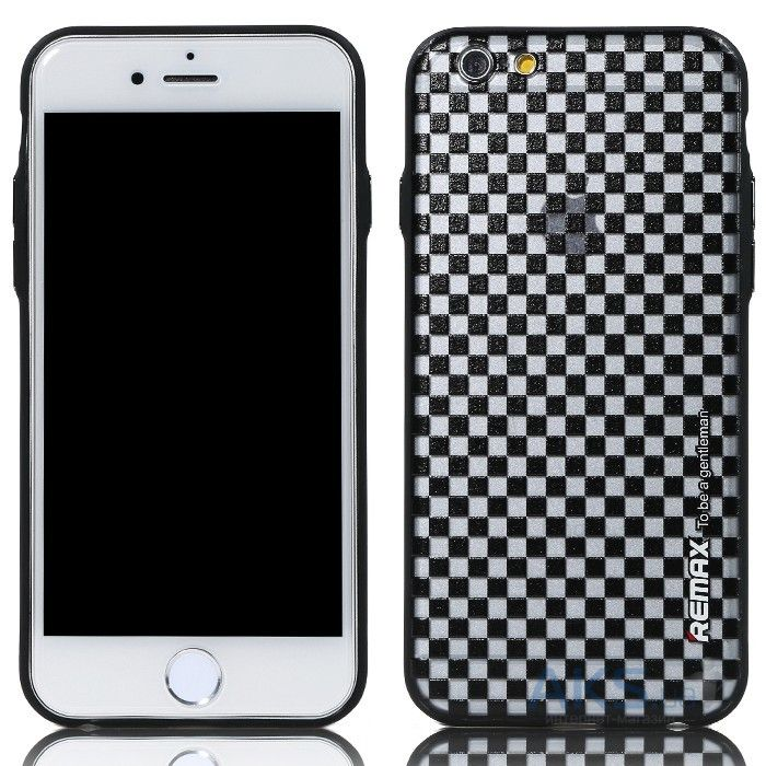 Чехол Remax Gentleman Series Apple iPhone 6 Black Chess