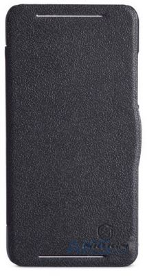 Чехол Nillkin Fresh Leather Series HTC Desire 700 Black