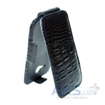 Чехол Sirius flip case for Lenovo A526 Croco Black