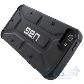 Вид 3 - Чехол UAG Urban Armor Gear Apple iPhone 5, iPhone 5S, iPhone 5SE Black (IPH5S-BLK/BLK-W/SCRN-VP)