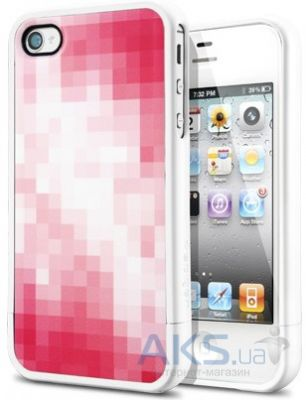 Чехол SGP Case Linear Check Series Tinto Red for iPhone 4/4S (SGP09082)