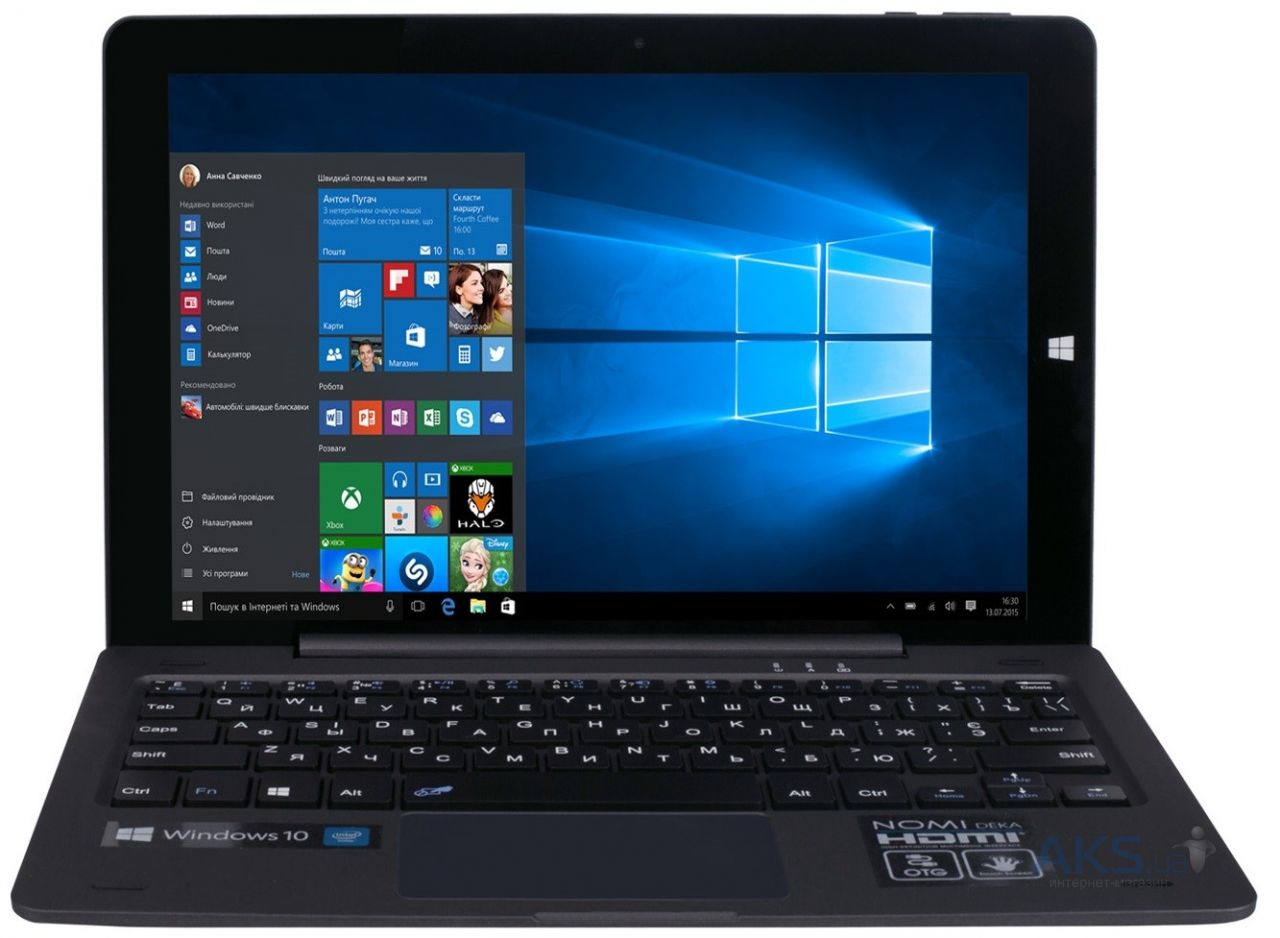 "Планшет Nomi W10100 Deka 10"" 32GB Black/Gray"