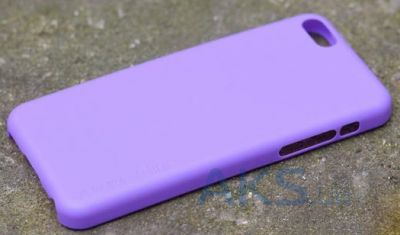 Чехол Melkco Air PP 0.4 mm cover case for iPhone 5C Purple (APIPONUTPPPE)