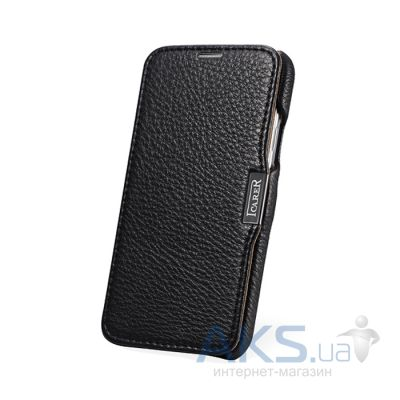 Чехол iCarer Side-open Litchi for Samsung Galaxy S5 Black