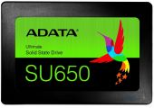 SSD Накопитель ADATA Ultimate SU650 240 GB (ASU650SS-240GT-R) Black