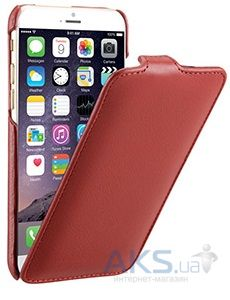 Чехол Decoded Leather Flip Case Apple iPhone 6, iPhone 6S Red (D4IPO6FC1RD)