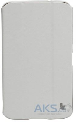 "Чехол для планшета JisonCase Premium Leatherette Smart Case for Samsung Galaxy Tab 3 7"" White (JS-S21-03H00)"