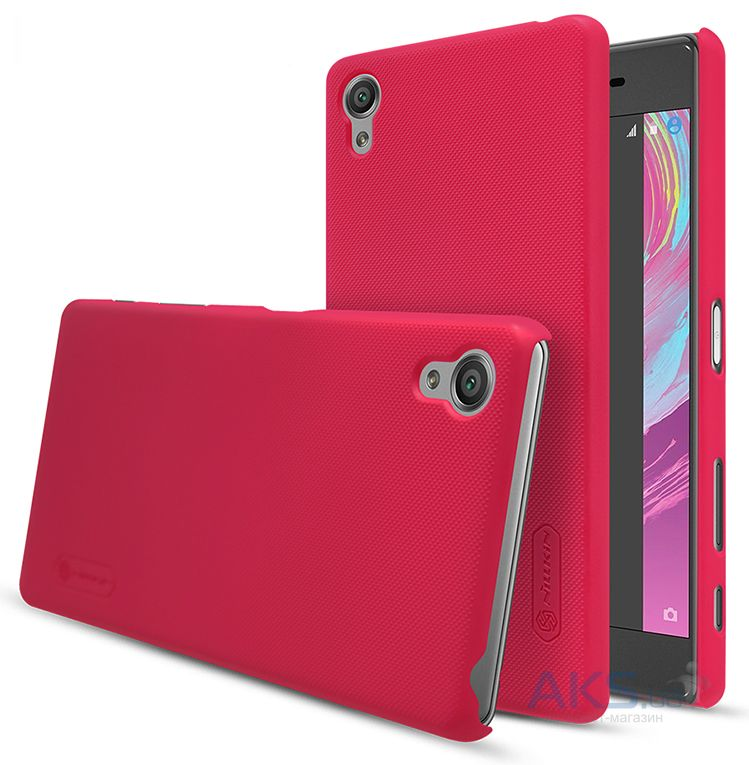 Чехол Nillkin Super Frosted Shield Sony Xperia X Performance Red