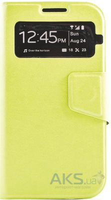 Чехол Book Cover TPU Samsung i9500 Galaxy S4 Green