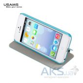 Чехол Usams Book case Starry Sky for Apple iPhone 5C Green