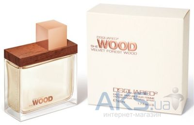 Dsquared2 She Wood Velvet Forest Wood Парфюмированная вода 30 ml