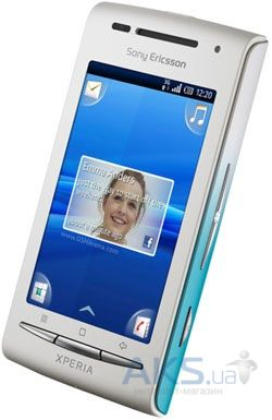 Сенсор (тачскрин) для Sony Ericsson Xperia X8 E15i with frame Original White