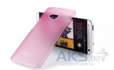 Чехол IMAK Color series 0,7 mm HTC One M7 801e Pink