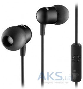 Наушники (гарнитура) Nocs NS200 Aluminum iOS Earphones Black