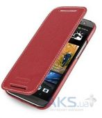 Вид 2 - Чехол TETDED Leather Book Series HTC One M8 Red