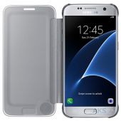 Вид 2 - Чехол Samsung Clear View Cover Series G935 Galaxy S7 Edge Silver (EF-ZG935CSEGRU)