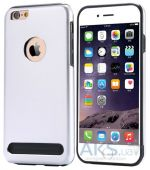 Чехол Motomo Armor Metal TPU Apple iPhone 7 Silver