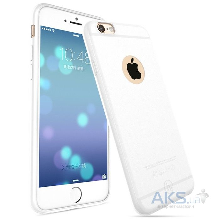 Чехол Hoco Light Series Frosted Apple iPhone 6 Plus, iPhone 6S Plus White