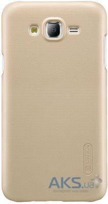 Чехол Nillkin Super Frosted Shield Samsung J500 Galaxy J5 Gold