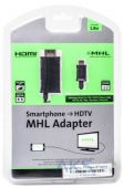 PowerPlant micro USB - HDMI-М MHL cable 1,8М KD00AS1239