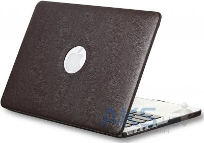 Чехол Kuzy Leather Case for MacBook Air 13 Brown