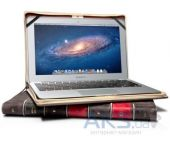 "Вид 7 - Чехол Twelvesouth Leather Case BookBook Black for MacBook Air 11"" (TWS-121103)"