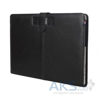 Чехол Decoded Leather Slim Cover MacBook Air 13 Black (D4MA13SC1BK)