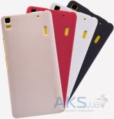 Вид 5 - Чехол Nillkin Super Frosted Shield Lenovo K3 Note, Lenovo A7000 Red
